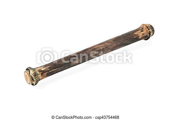 Bamboo ethnic musical instrument - csp43754468