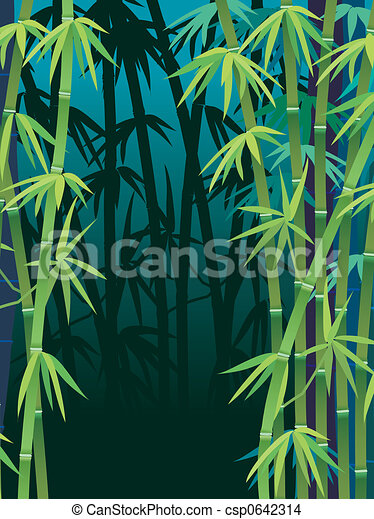 Bamboo forest - csp0642314
