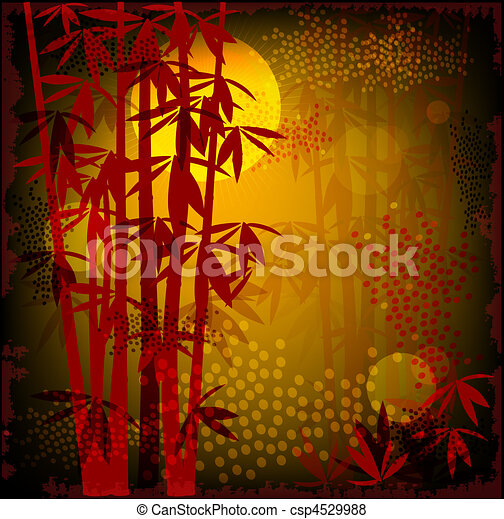 bamboo forest - csp4529988