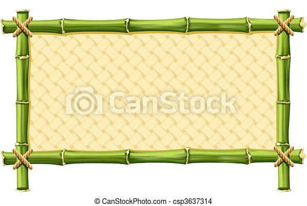 Bamboo Frame - csp3637314