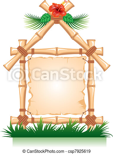 Bamboo Frame  - csp7925619