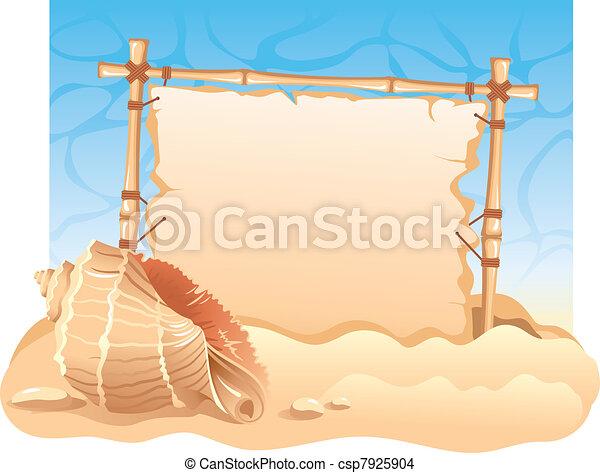 Bamboo Frame  - csp7925904