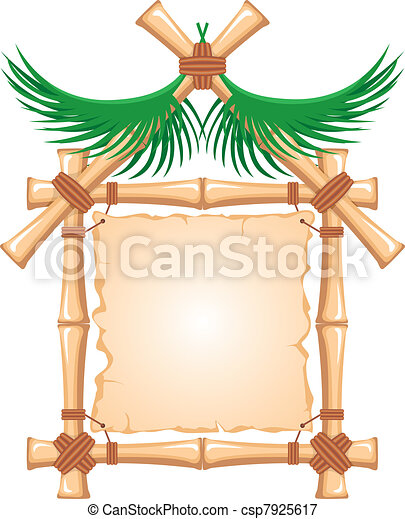 Bamboo Frame  - csp7925617