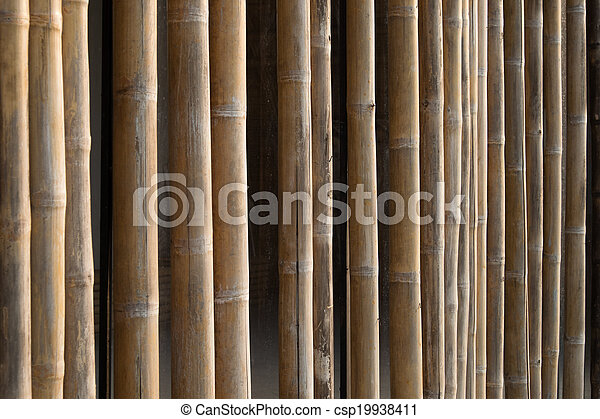 Bamboo structure - csp19938411