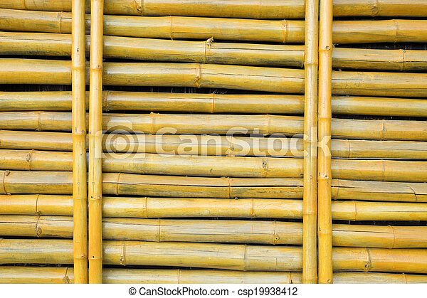 Bamboo structure - csp19938412