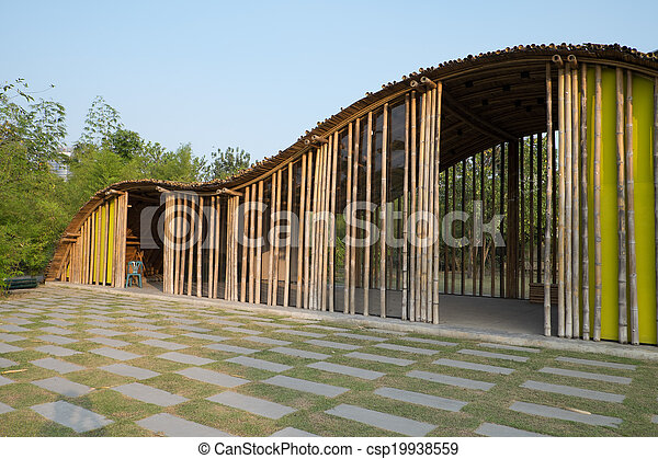 Bamboo structure - csp19938559