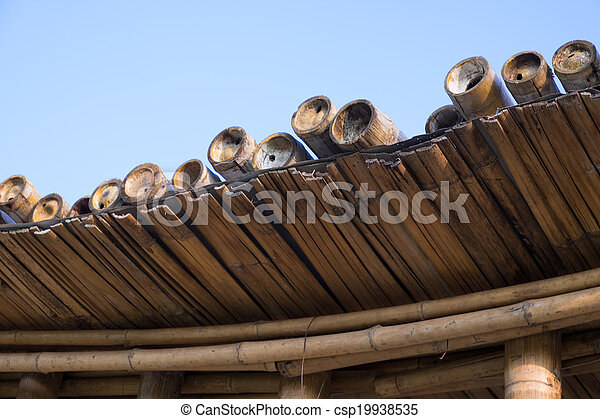Bamboo structure - csp19938535