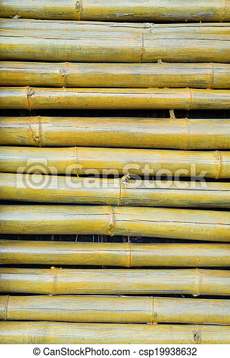 Bamboo structure - csp19938632