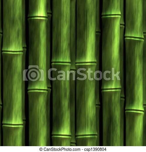 Bamboo Wall - csp1390804
