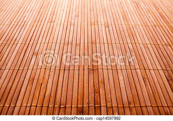 Bamboo wood texture - csp14597992