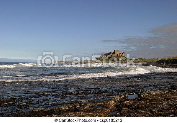 Bamburgh Castle III - csp0185213