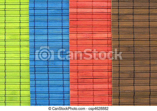 Bambus Tischdecke Brauner Tischdecke Blaues Grun Bambus Rotes