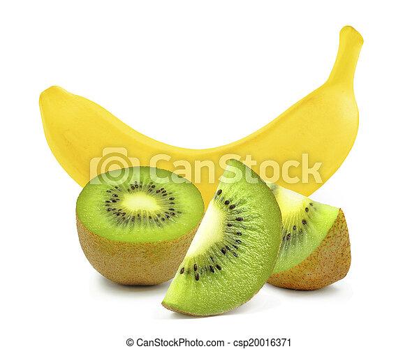 banana and kiwi - csp20016371