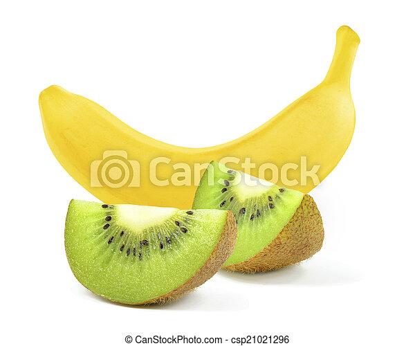 banana and kiwi - csp21021296