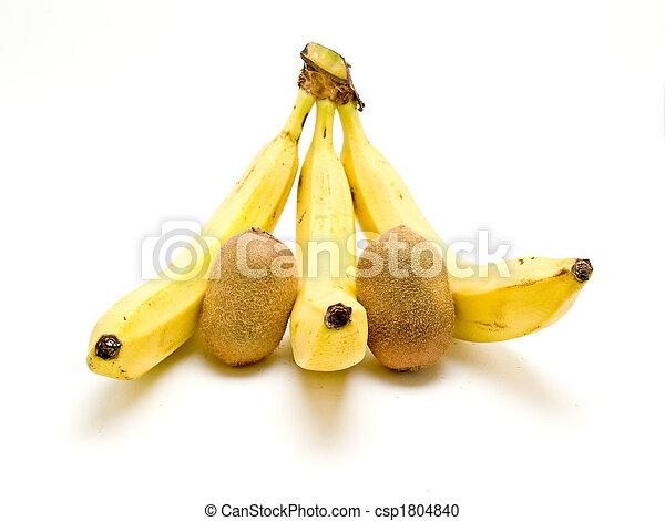banana and kiwi - csp1804840