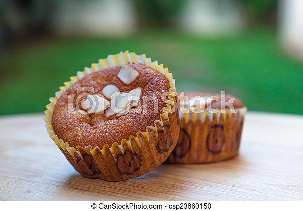 Banana cake - csp23860150
