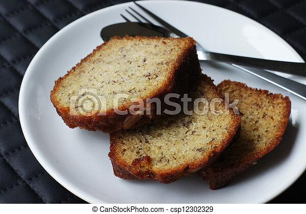 banana cake - csp12302329