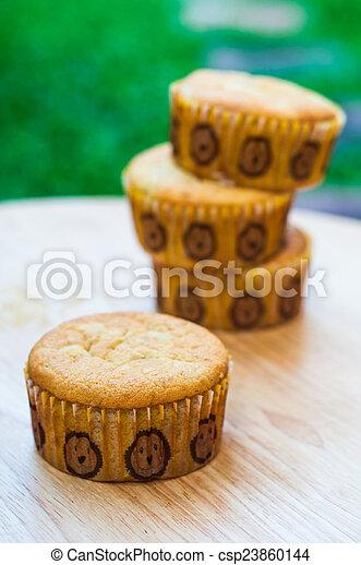 Banana cake - csp23860144