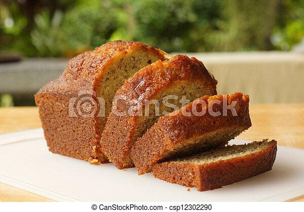 banana cake - csp12302290
