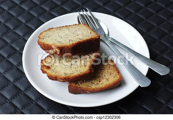 banana cake - csp12302306