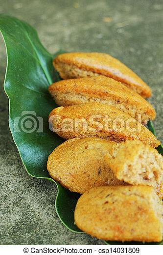 Banana cake. - csp14031809