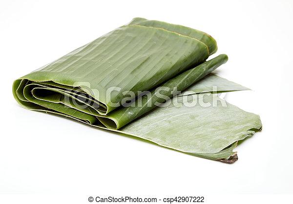 banana leaf - csp42907222