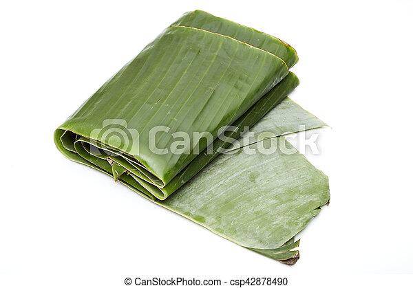 banana leaf - csp42878490
