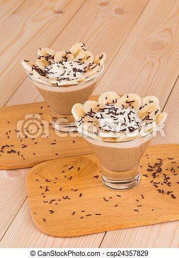 Banana Milkshake - csp24357829