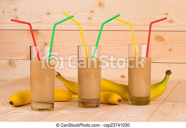Banana Milkshake - csp23741030