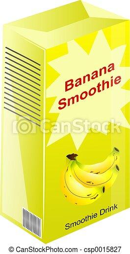 Banana Smoothie - csp0015827