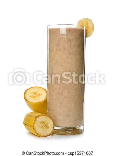 banana smoothies - csp15371087