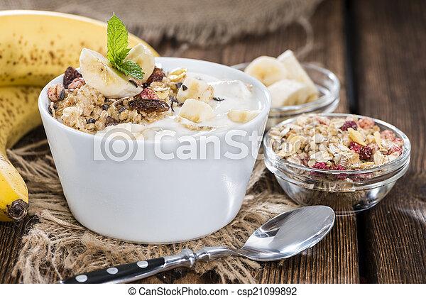 Banana Yogurt - csp21099892