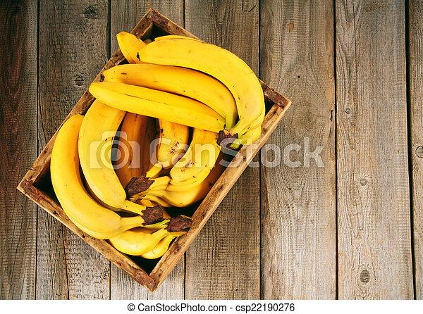 Bananas in a box - csp22190276