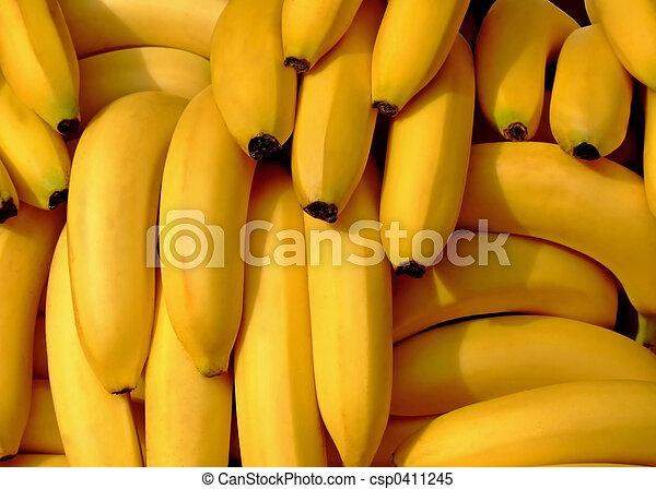 Bananas pile - csp0411245