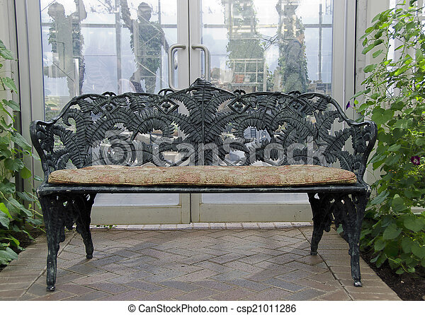 banc jardin fer forg garden banc noir fer forg images rechercher photographies. Black Bedroom Furniture Sets. Home Design Ideas