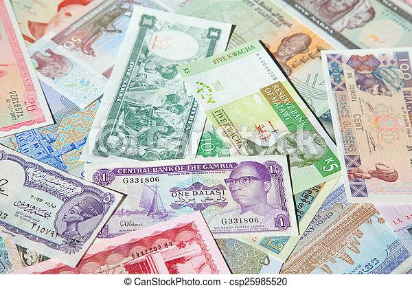 banconote - csp25985520