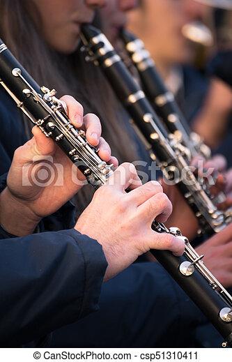 band., クラリネット, 市の - csp51310411