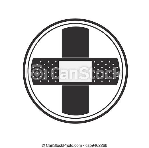 Blank Band Aid Cross Logo Stock Illustration Search Eps Clip Art