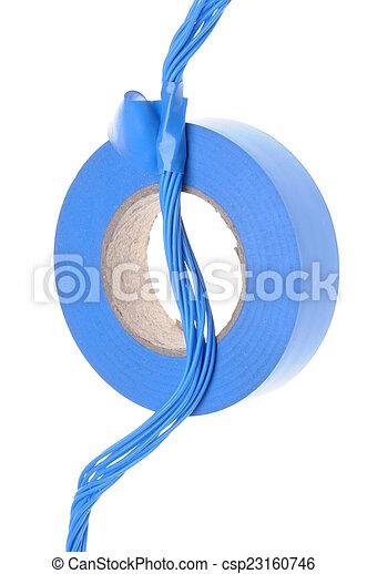 Elektrokabel mit Band - csp23160746