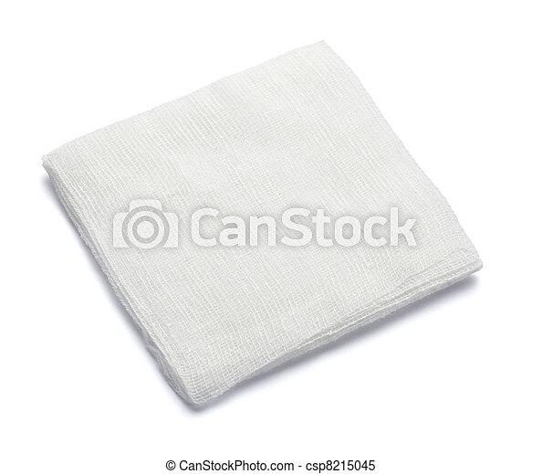 bandage cotton medical aid wound - csp8215045