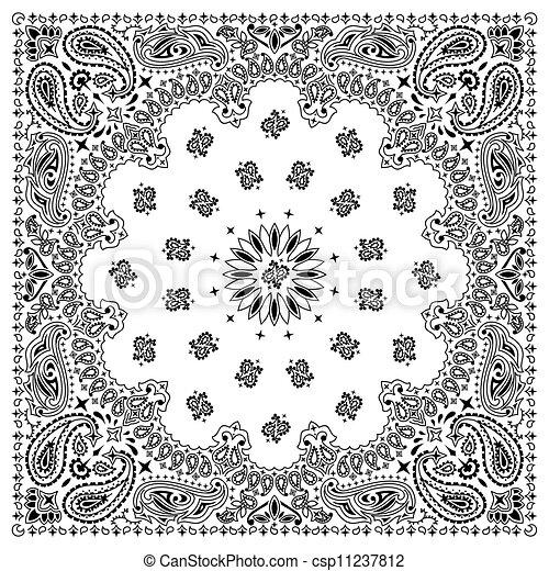 Bandana White - csp11237812