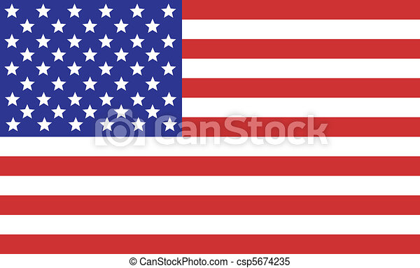 bandeira americana - csp5674235
