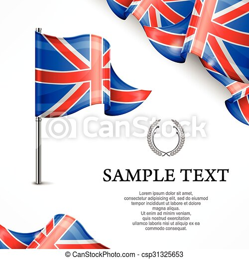 bandeira, britânico - csp31325653