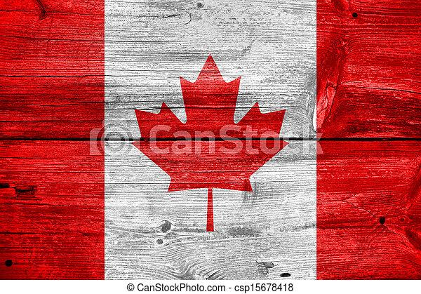bandeira canadá - csp15678418