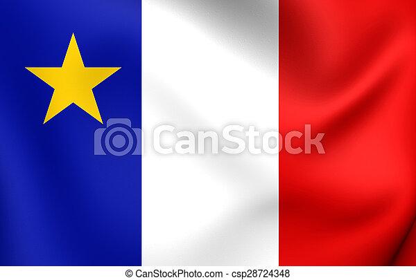 bandeira, canada., acadia - csp28724348