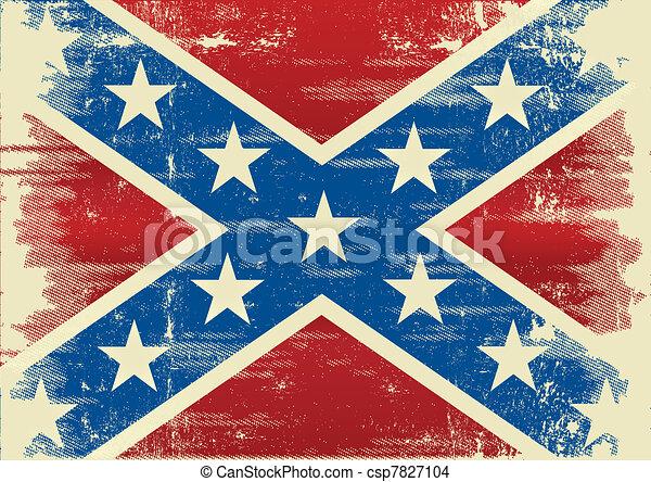 bandeira, confederado - csp7827104