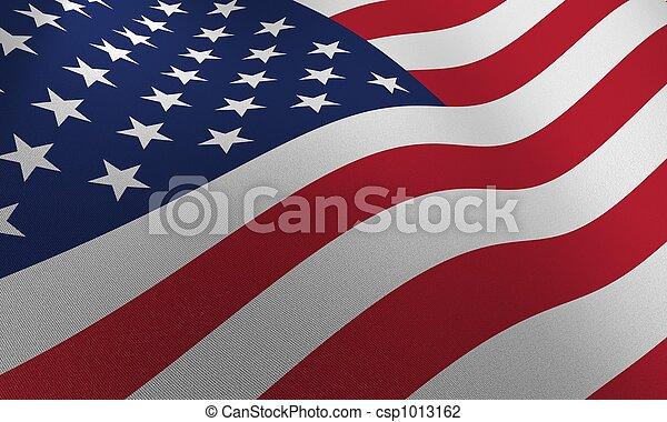 bandeira, eua - csp1013162