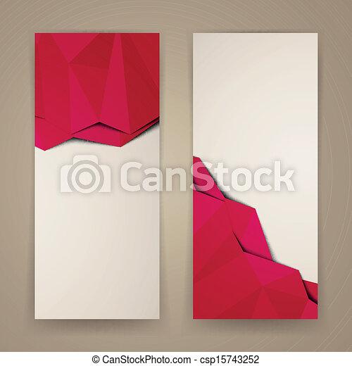 bandeiras, vetorial - csp15743252