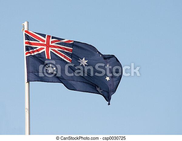 Bandera australiana - csp0030725