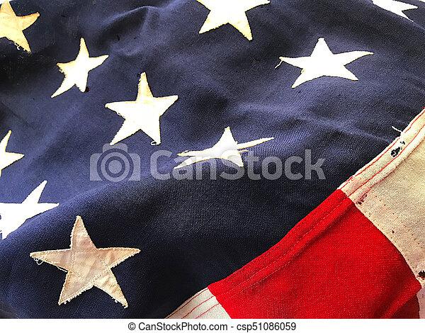 bandera, batalion, usa - csp51086059